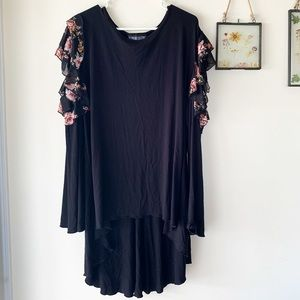The Pyramid Collection cold shoulder tunic